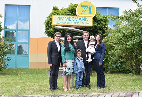 Zimmermann Technische Federn famliengeführtes Industrieiunternehmen